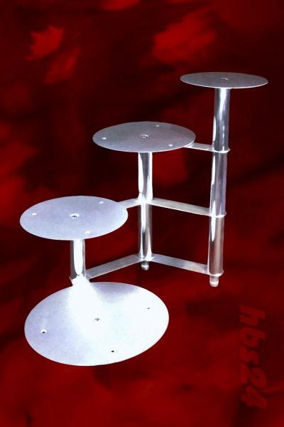 Tortenständer aluminium tortenständer 4 stufig treppe hbs24