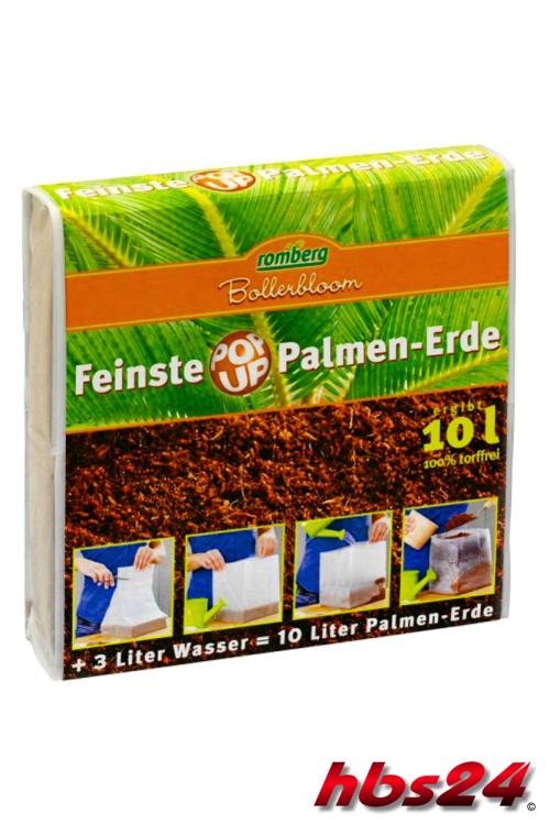 feinste popup palmen und gr npflanzen erde 10l hbs24. Black Bedroom Furniture Sets. Home Design Ideas