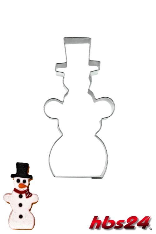 schneemann ausstechform 7 cm ausstecher weihnachtsb ckerei. Black Bedroom Furniture Sets. Home Design Ideas